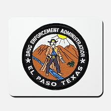 DEA El Paso Mousepad