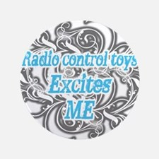 """Radio controlled 3.5"""" Button (100 pack)"""