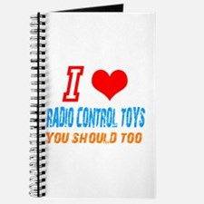 I love radio control toys Journal