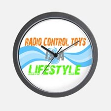 Radio control toys is a lifes Wall Clock