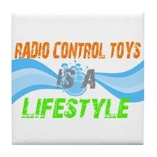 Radio control toys is a lifes Tile Coaster
