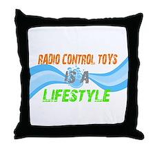 Radio control toys is a lifes Throw Pillow