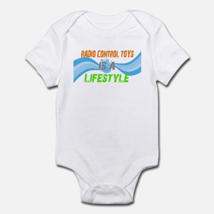 Radio control toys is a lifes Infant Bodysuit