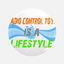"""Radio control toys is a lifes 3.5"""" Button (100 pac"""