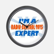 im a radio control toys exper Wall Clock