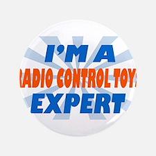 "im a radio control toys exper 3.5"" Button (100 pac"