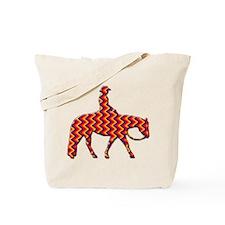 Western pleasure zig zag Tote Bag