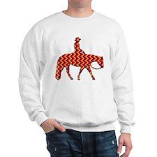 Western pleasure zig zag Sweatshirt