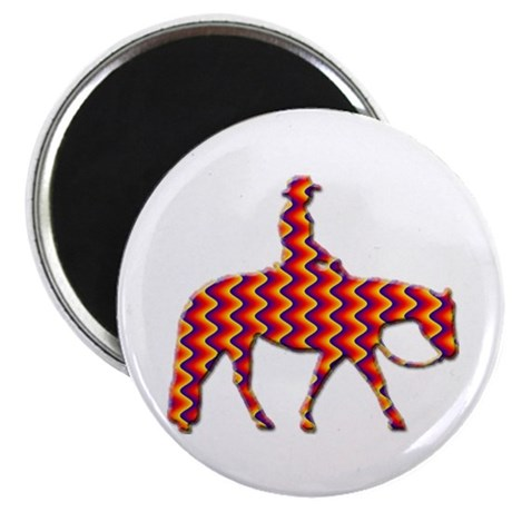 "Western pleasure zig zag 2.25"" Magnet (10 pack)"