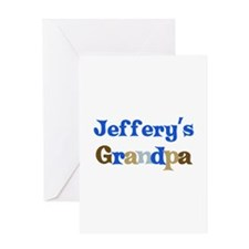 Jeffery's Grandpa Greeting Card