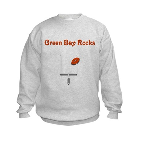 Green Bay Rocks Kids Sweatshirt