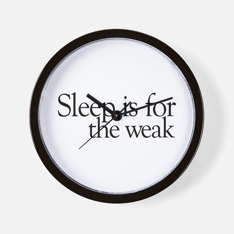 Sleep is for the weak Wall Clock