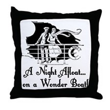 The Wonder Boat Throw Pillow
