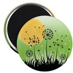 Fields of Dandelion Art Magnet