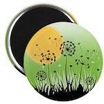 "Fields of Dandelion Art 2.25"" Magnet (10 pack)"