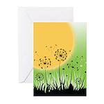 Fields of Dandelion Art Greeting Cards (Pk of 20)