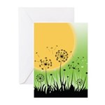 Fields of Dandelion Art Greeting Cards (Pk of 10)