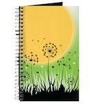 Fields of Dandelion Art Journal