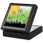 Fields of Dandelion Art Keepsake Box