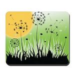 Fields of Dandelion Art Mousepad