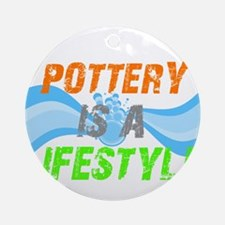 Potterly is a Lifestyle Ornament (Round)
