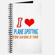 Cute Plane spotting shop Journal