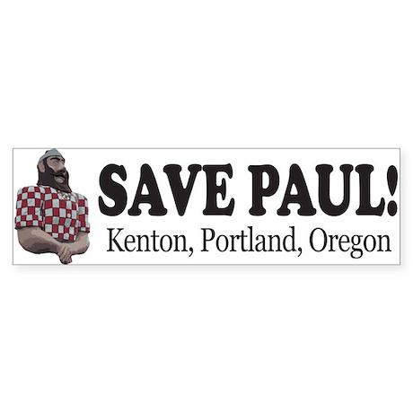 Save Paul! bumper sticker