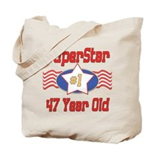 Superstar at 47 Tote Bag