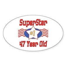 Superstar at 47 Oval Decal