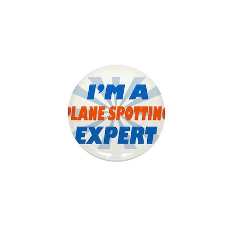 Plane spotting Expert Mini Button (10 pack)