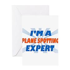 Plane spotting Expert Greeting Card