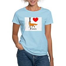 I Love Foxes T-Shirt