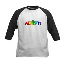 Multi Color Adopt Tee