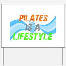 Cute Pilates Yard Sign