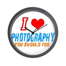 I love photograph Wall Clock
