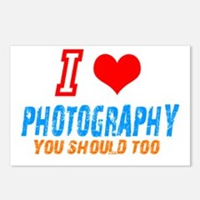 I love photograph Postcards (Package of 8)