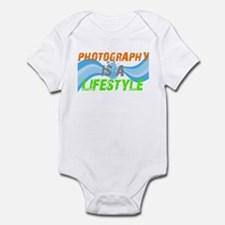 Photography is a lifestyle Infant Bodysuit