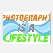 Photography is a lifestyle Postcards (Package of 8