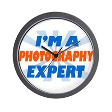 im a photograph expert Wall Clock