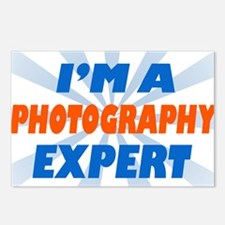 im a photograph expert Postcards (Package of 8)