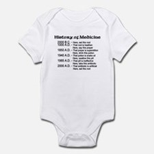 History of Medicine Infant Bodysuit