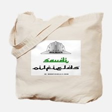 Saudi Oilfields Tote Bag