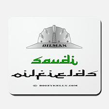 Saudi Oilfields Mousepad