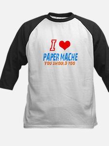 I love Paper mache Kids Baseball Jersey
