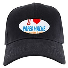 I love Paper mache Baseball Hat