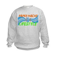 Unique Papermache Sweatshirt