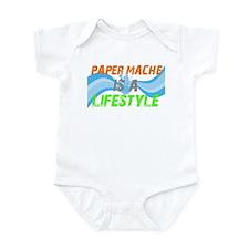 Unique Papermache Infant Bodysuit