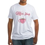 Coffee Shop Fitted T-Shirt