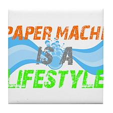 Paper Mache is a lifestyle Tile Coaster