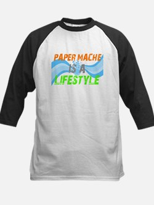 Paper Mache is a lifestyle Kids Baseball Jersey